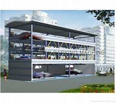 4 decks lift-sliding car parking lift,High Quality car parking system