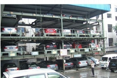 4-level auto car parking lift,car parking system, lift-sliding car parking