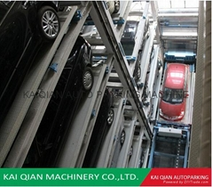 KQTP high efficient automatic elevator car parking lift system