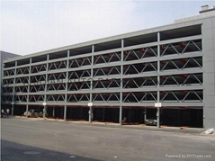 6-level KQLS vertical-horizontal car parking lift system,lifting car parking