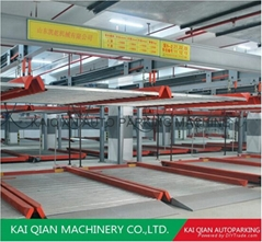 KQLS smart multi mechanical automatic parking system,lift-sliding car parking