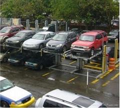 commercial car parking lift system,lift-sliding parking system