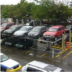 commercial car parking lift system,lift-sliding parking system