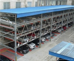 KQLS multi level mechanical parking garage,car parking system lift
