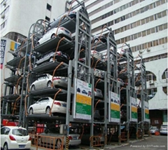 Multi-Layer Lift-Sliding Mechanical Type Car Parking System Lift