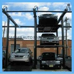 Economic mechanical parking system for 6 cars,lift sliding car parking