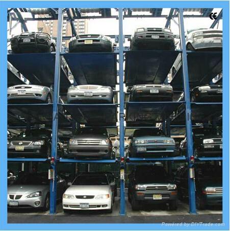stacker parking , car parking lift, lift sliding parking