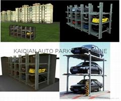 underground parking design residential apartment mechanical parking system lift