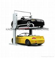 commercial 2 layers vertical parking system,car parking lift,lift sliding park