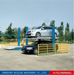 KQHL China Two Post car parking lift/ double parking lift/ car lift for home
