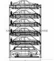 6 levels lift-sliding parking system cheap car elevator cost 7