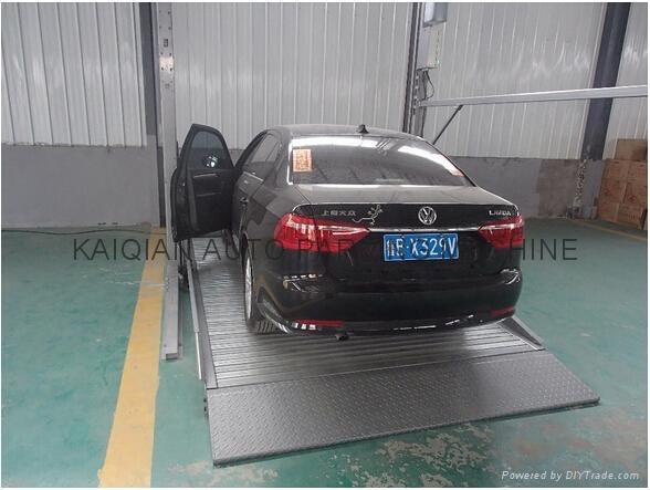 Hydraulic car parking