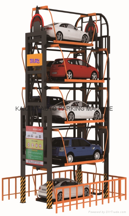 Rotary Parking System,High Quality Parking System,Parking System 4