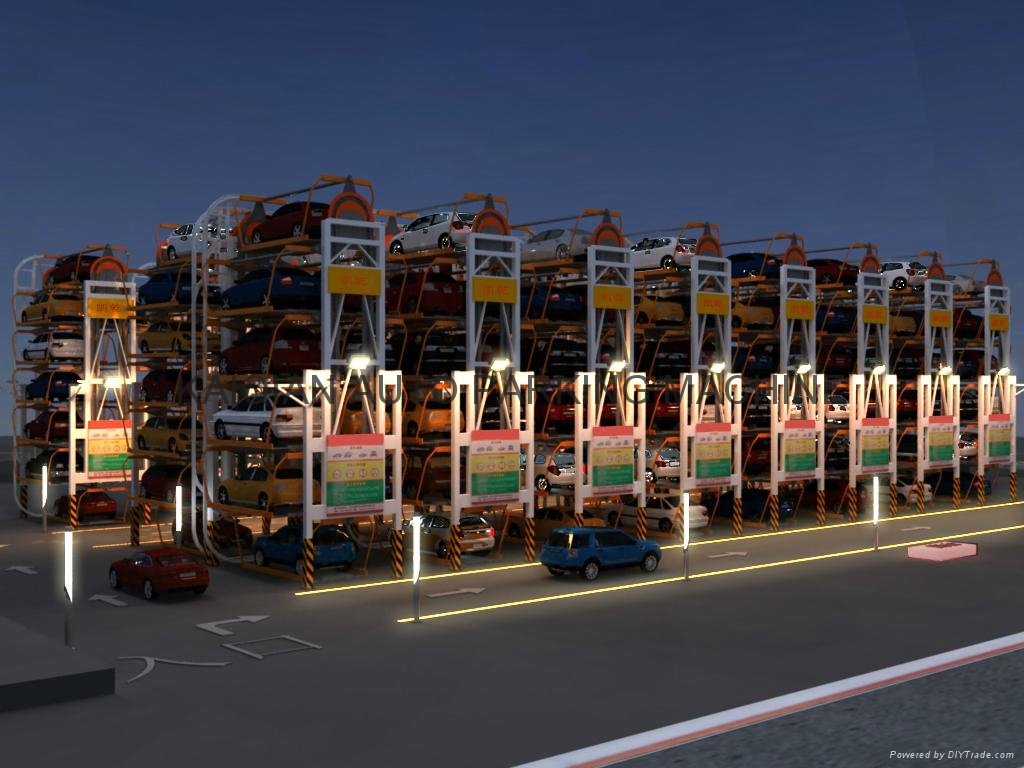 Rotary Parking System,High Quality Parking System,Parking System 3