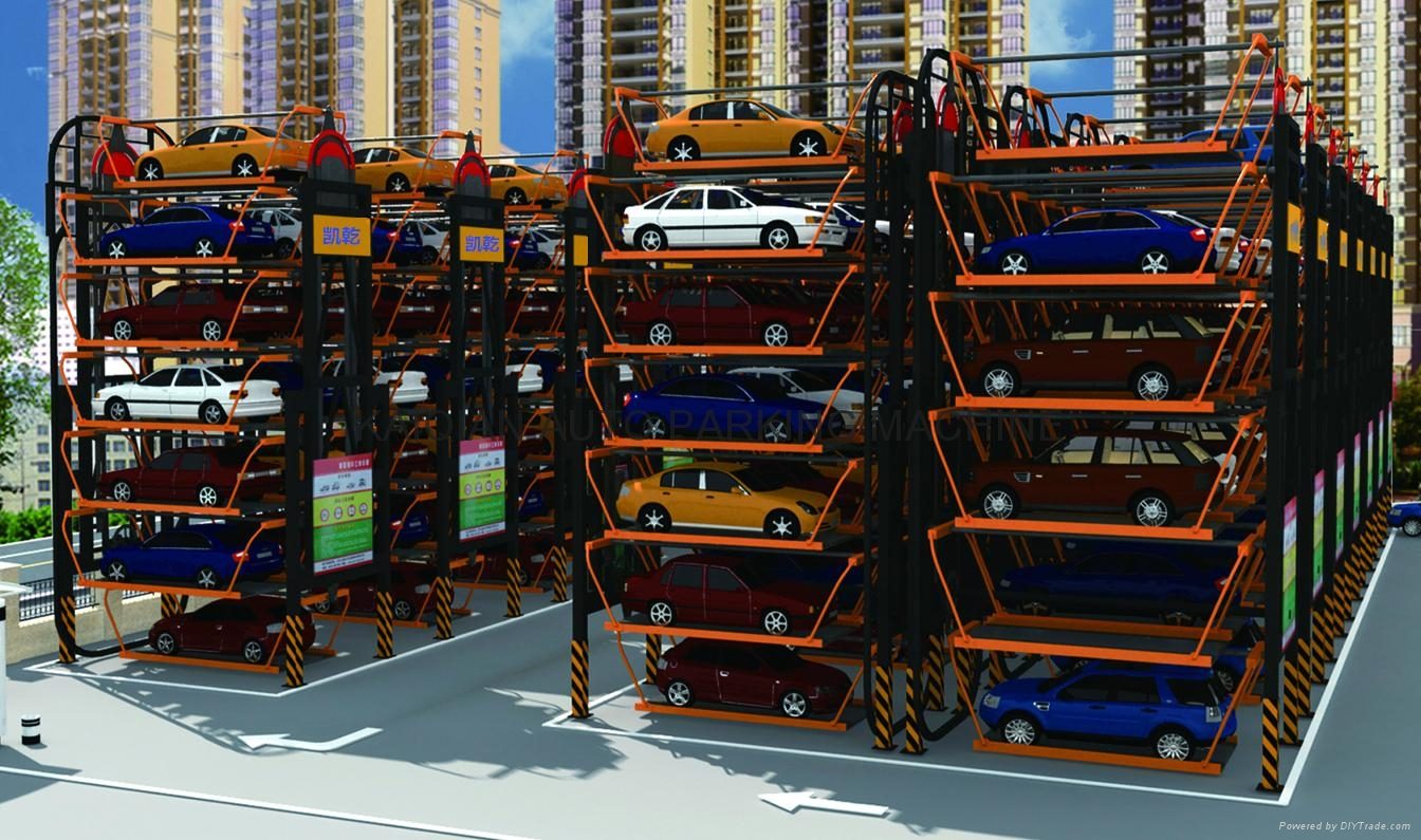 Rotary Parking System,High Quality Parking System,Parking System 8