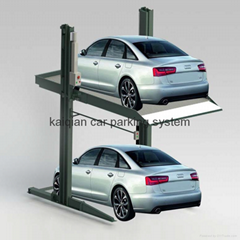 Two Level 2 Post car parking system,car parking system,2 post parking system