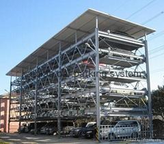 smart parking system.parking system,parking garage