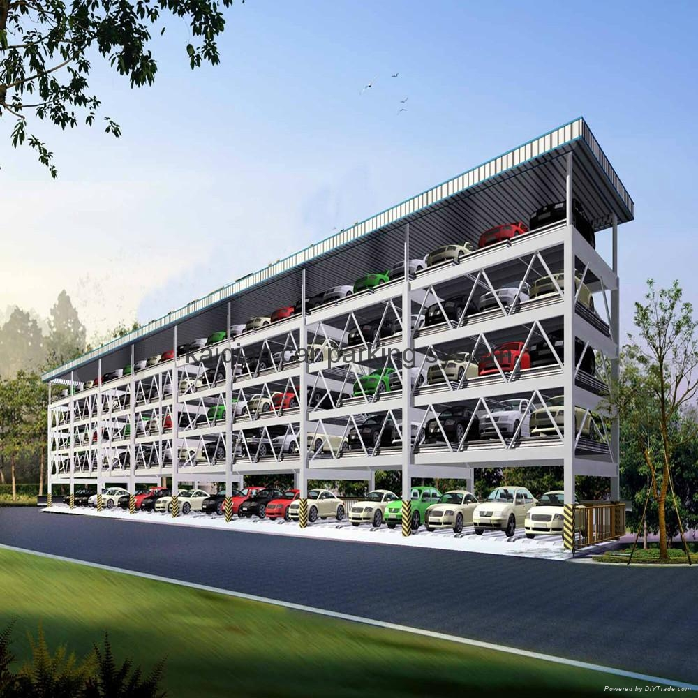 Puzzle Parking System Multi Level Car Parking System China