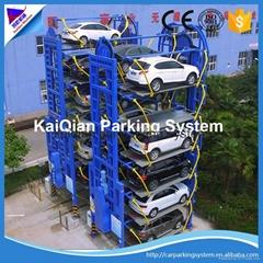China smart rotary car parking system, rotary parking project,car parking system