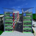 multi level car parking system auto parking garage smart parking system price