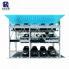 3 Level Puzzle Parking System