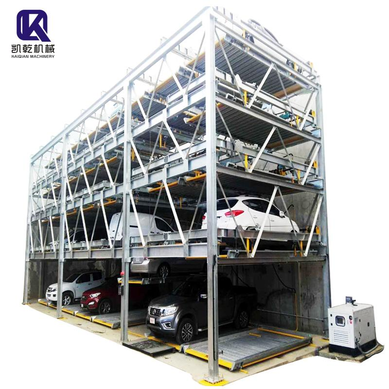 5 Level Puzzle Parking System 1