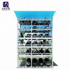 6 Level Puzzle Parking System