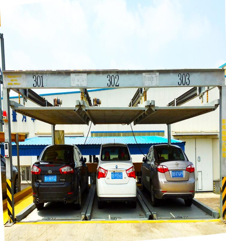 7 Level Puzzle Parking System  2