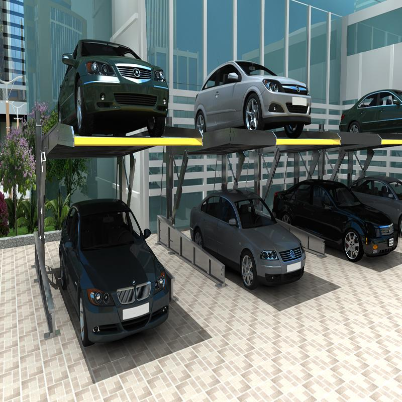 Hydraulic Tilting Parking Lift