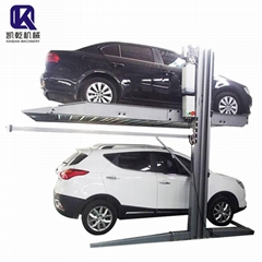 2 post parking system smart parking system 2 floor parking system