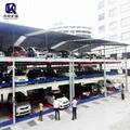 Multi-level automated lift sliding car elevator parking systems