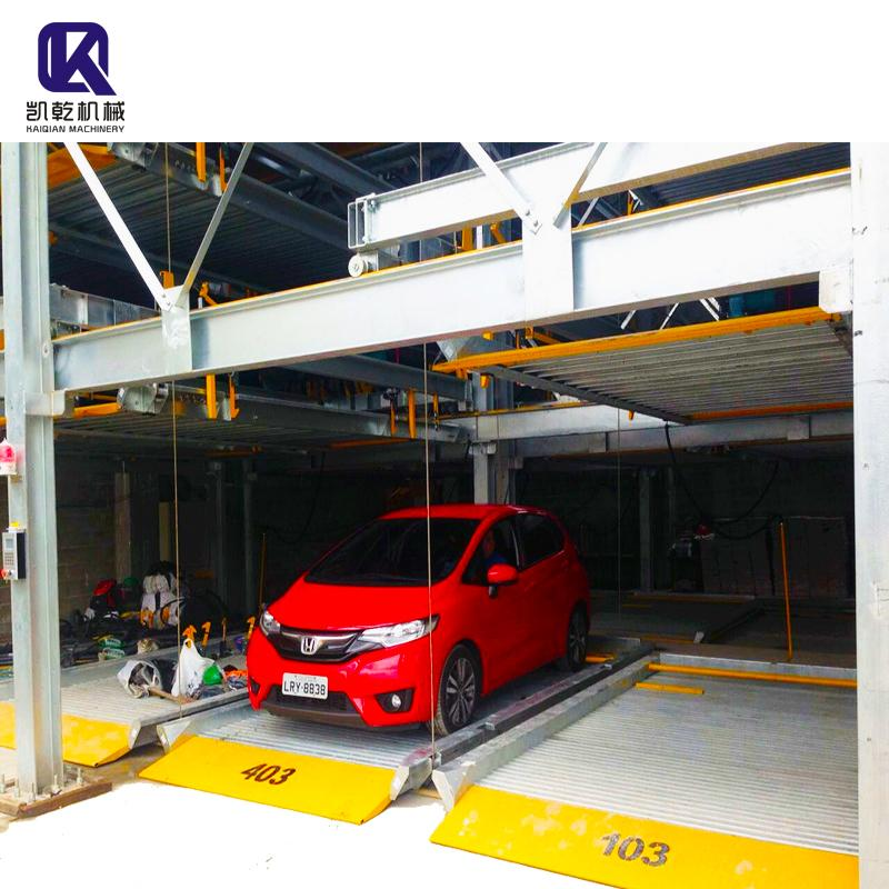 Multi level Mechanical Auto Puzzle Car Parking Lift System 1