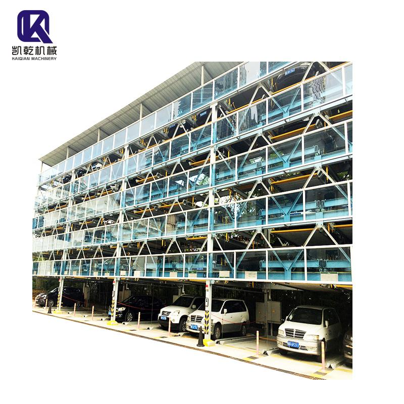 Multi level Mechanical Auto Puzzle Car Parking Lift System 2