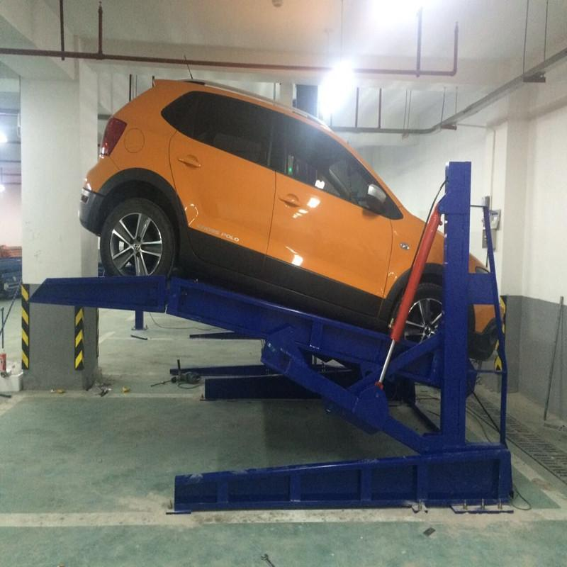 CHEAP CAR SIMPLE CHEAP HYDRAULIC TILTING PARKING LIFT SYSTEM 1