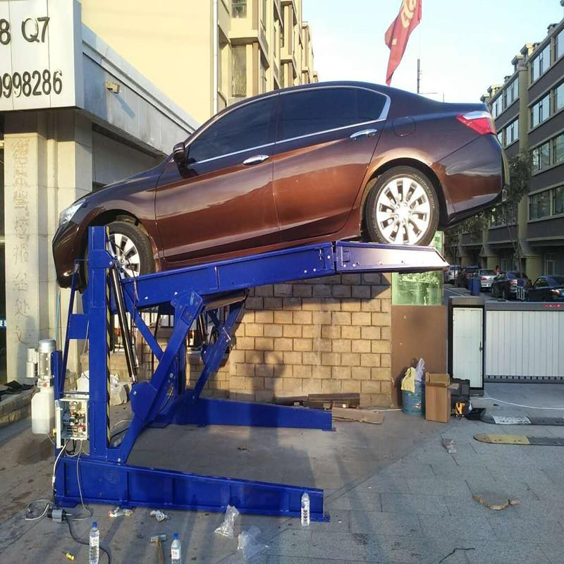 CHEAP CAR SIMPLE CHEAP HYDRAULIC TILTING PARKING LIFT SYSTEM 2