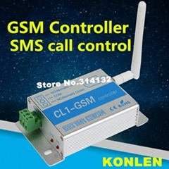 Remote Control GSM Controller SMS Call GSM Relay On Off Switch Door Gate Opener
