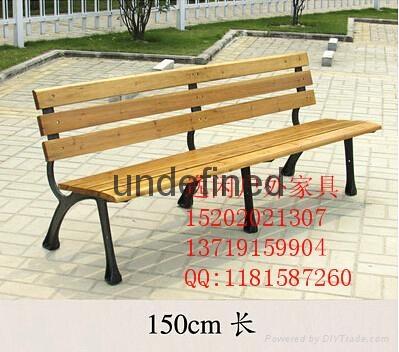 鐵藝骨架公園椅 1