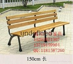 铁艺骨架公园椅