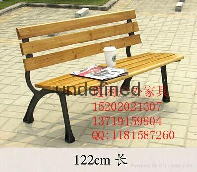 鐵藝骨架公園椅 2