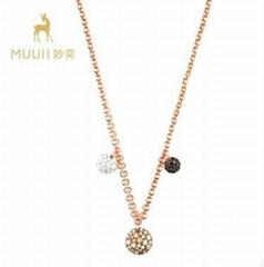 MUUII 鋯石鎖骨鏈