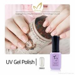 OEM bulk package gel polish, soak off gel nail salon nails uv gel