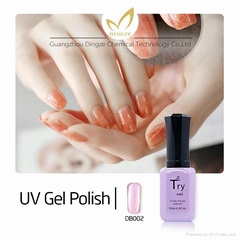 New 5ml UV Gel Nail Polish/ 3 in 1 gel polish nail art uv nail gel