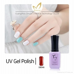 Fashion Colors Nail art Soak Off LED UV Gel Nail Polish