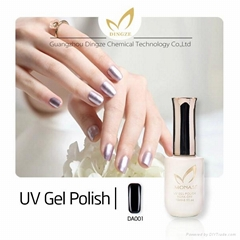 private lable makeup nail polish&UV color change gel nail polish for nail art pr
