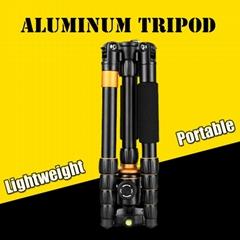 Q278 Telecope camera tripod aluminum portable slr camera tripod