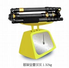 Q888C Carbon  fiber digital and slr camera tripod stand panorammic monopod