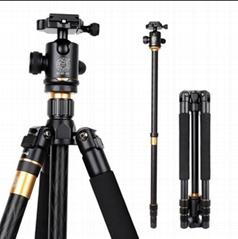 Q999 Aluminum digital camera stand portable panoramic slr camera stand monopod