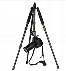 Q999S Aluminum digital camera tripod stand monopod