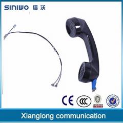 china popular outdoor payphone waterproof telephone handset