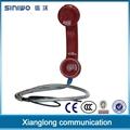 china popular outdoor payphone waterproof telephone handset 2